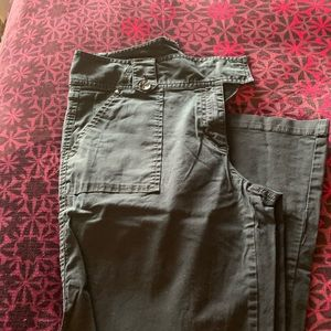 Style&co wide legged black pants
